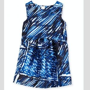 Milly Minis Ari Scribble Print Party Dress